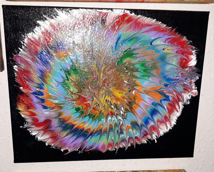 Lynn's rainbow flower - Lynn's design's 4u