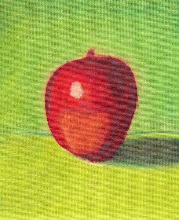 Apple still life - Jose Rivera Art