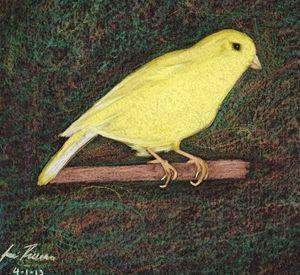 Yellow friend - Jose Rivera Art