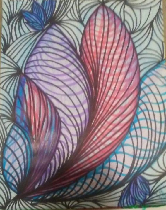 Abstract Floral Beauty - nubimaja (TH)