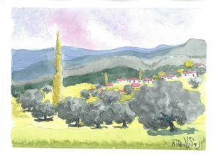 W1002 - Landscape in Cyprus