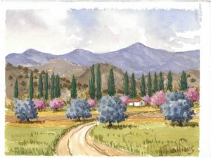 W1030 - Landscape in Cyprus