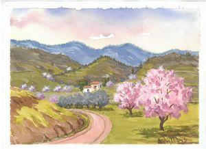 W1031 - Landscape in Cyprus