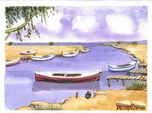 W1048 - Fishing Boat Harbor - Cyprus