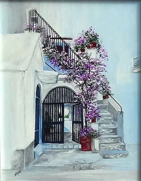 Rodi Garganico - Paintings By Nana