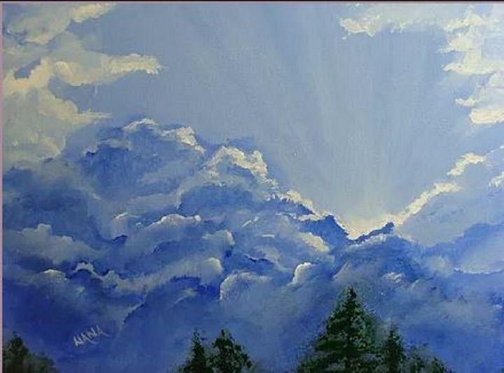 Good Morning Sunshine - Paintings By Nana