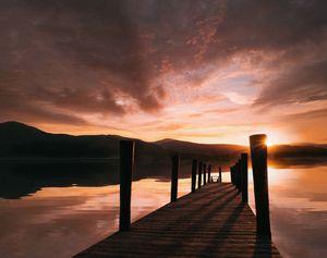 Ashness Jetty Sunset