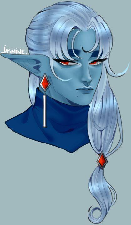 Blue Elf - Artworks