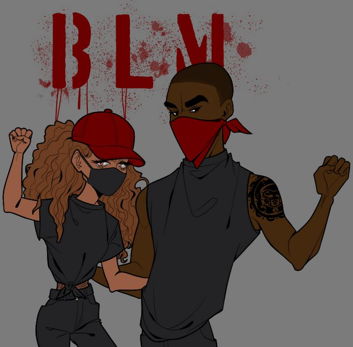 BLM(Black) - Artworks