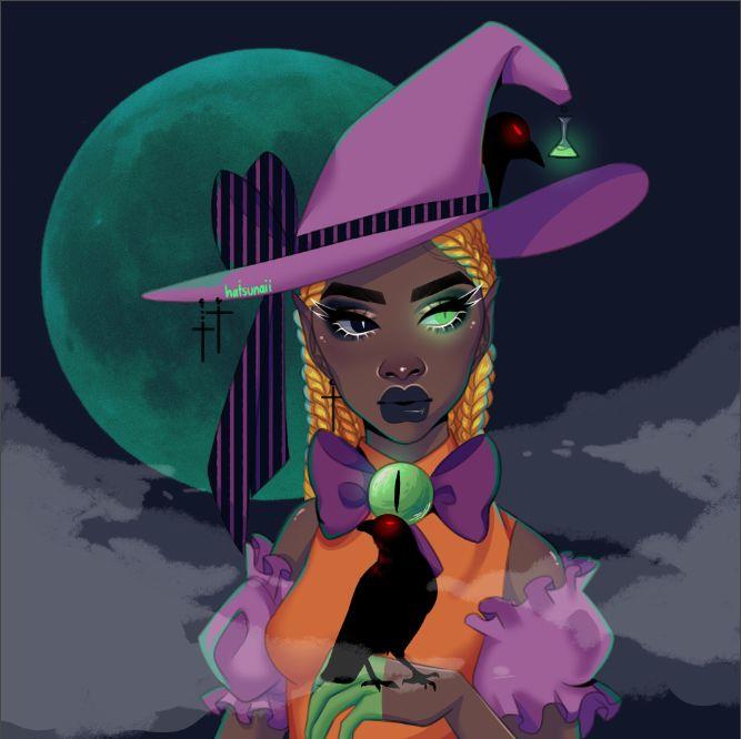 Halloween Baddie - Artworks