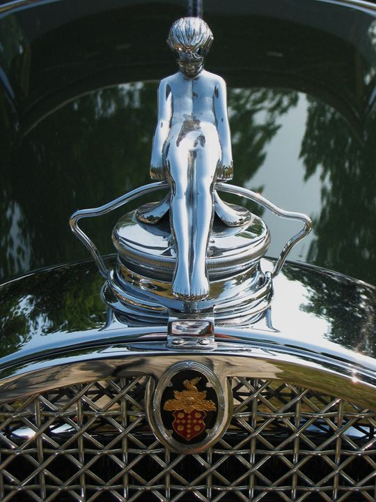 Packard Victoria Hood Ornament - NTZ Automotive and Marine Photography