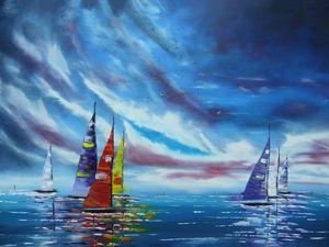 Sail Boats - Sol Suleyman