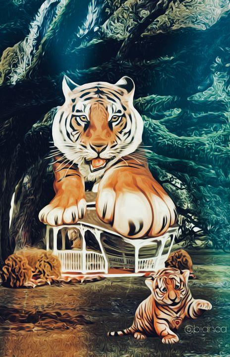 Tiger - myArt surrealcollagen