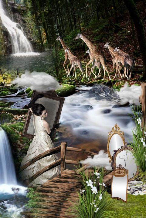 Mirror - myArt surrealcollagen