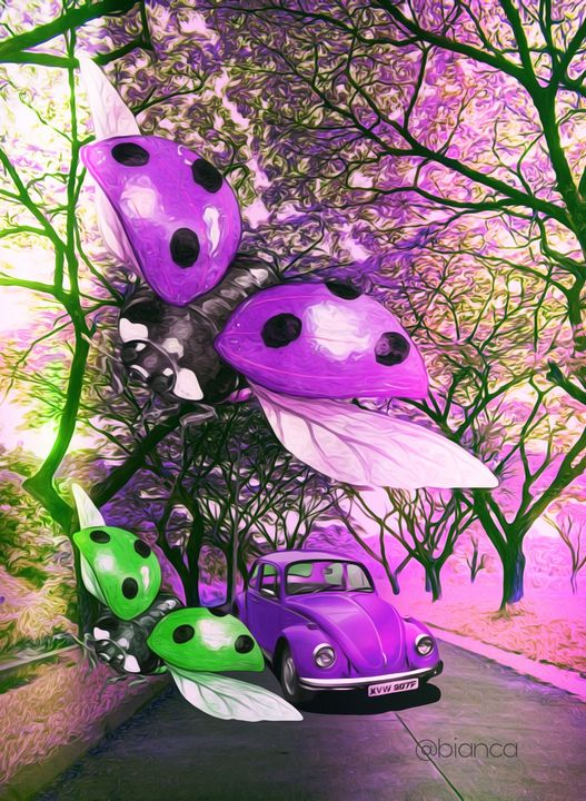 Beetle - myArt surrealcollagen