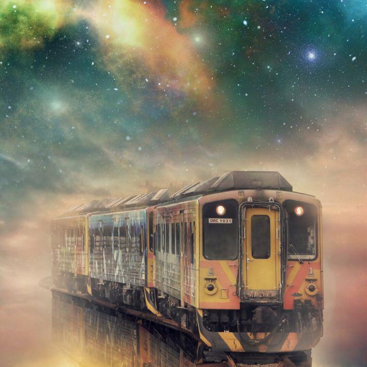 Train - myArt surrealcollagen