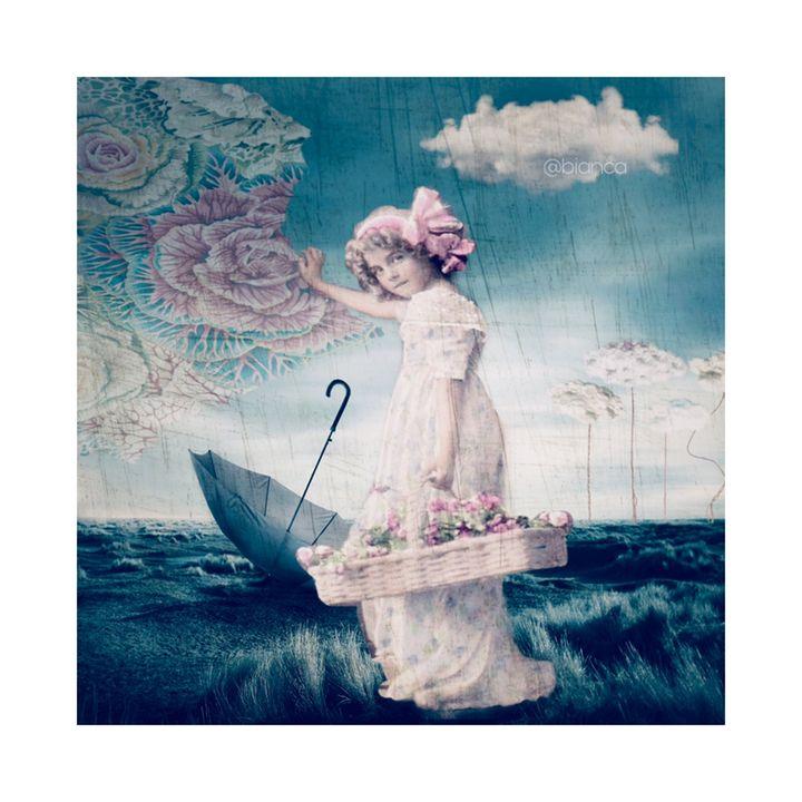 Lady Flower - myArt surrealcollagen