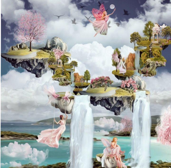 Fantasyland - myArt surrealcollagen