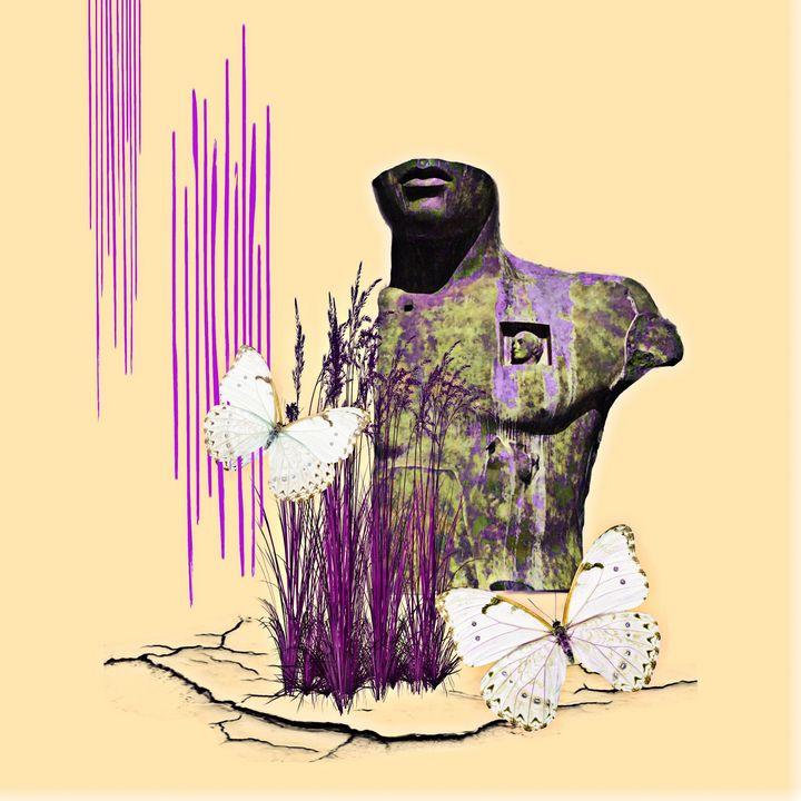 Silence - myArt surrealcollagen