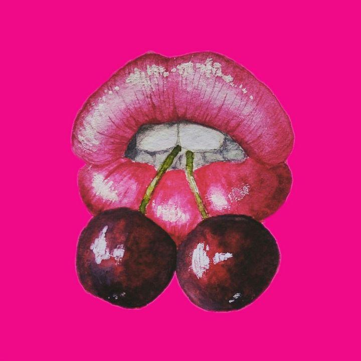 Cherry - myArt surrealcollagen