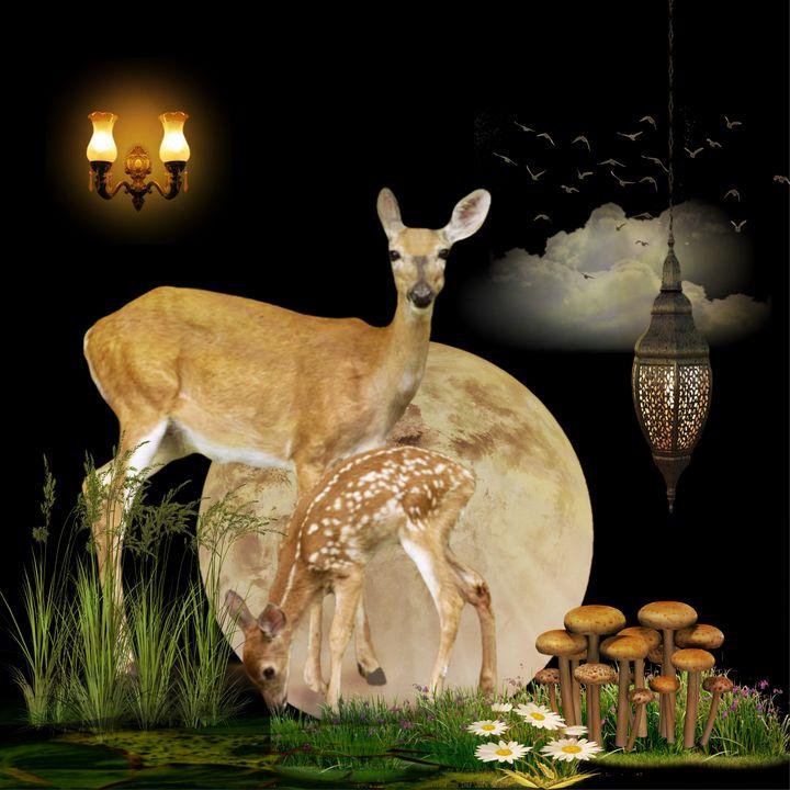 Bambi - myArt surrealcollagen