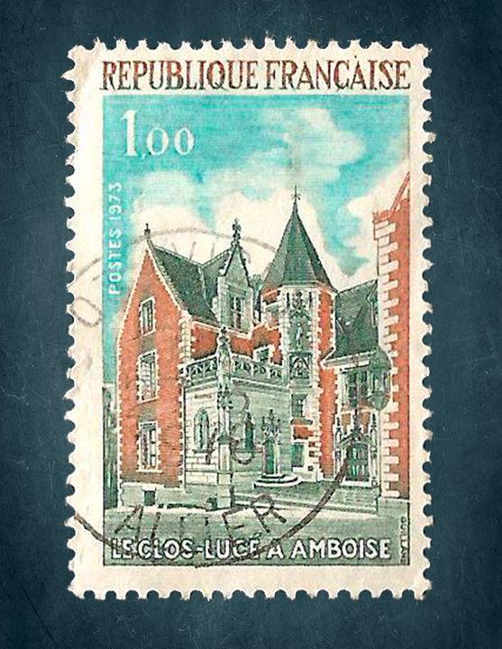 republique francaise postage stamp 1 - Super Postman