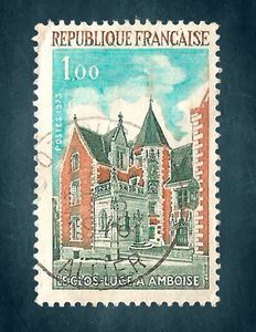republique francaise postage stamp 1