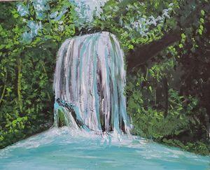 Volcanic Waterfall