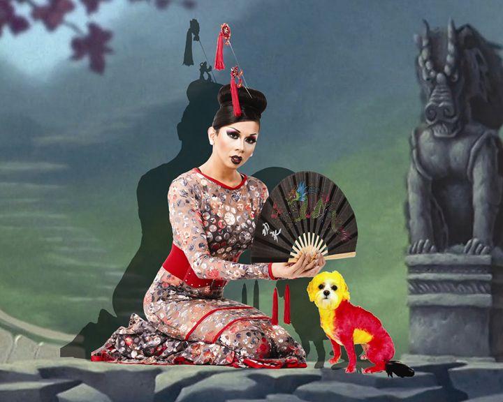 Inspired By Mulan - Art Of Fur Print Store