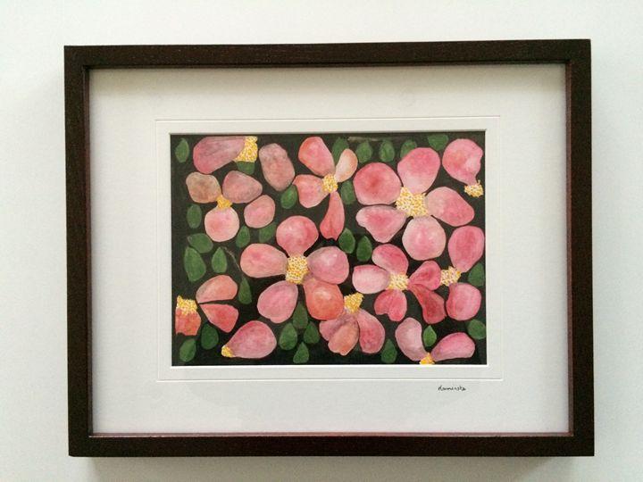 Wild Roses - Art Studio of Sophie