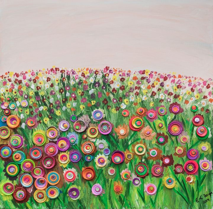 Field of Colour - Mindful Art by Elise