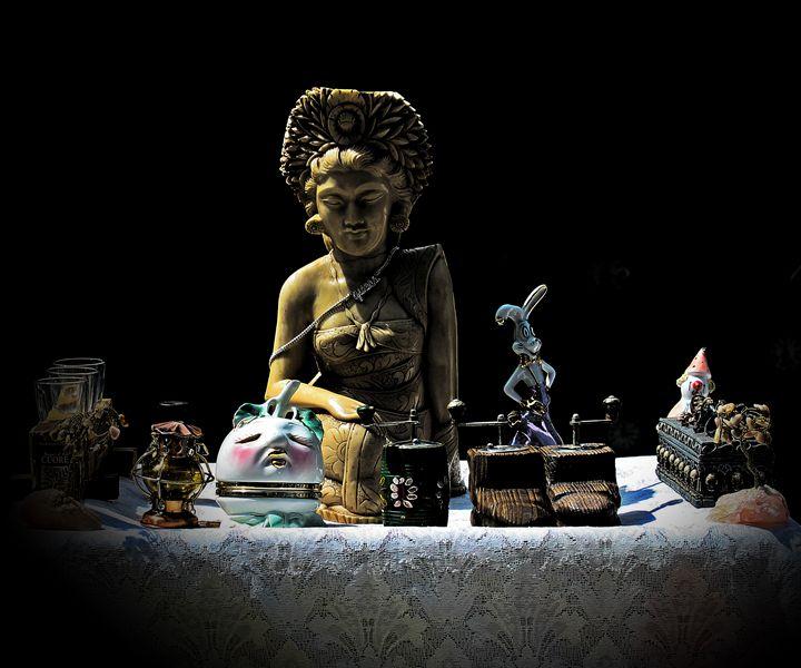 abandoned idols - stefano zanoli