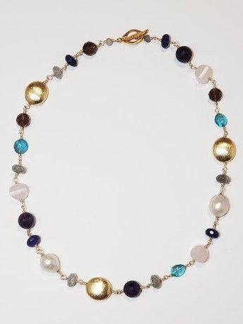 Mixed Gemstone Choker - The Studio Gallery, OKC