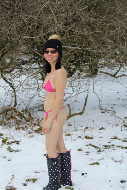 cool day and snowy - Fun Photography and Nature outdoors mix pic