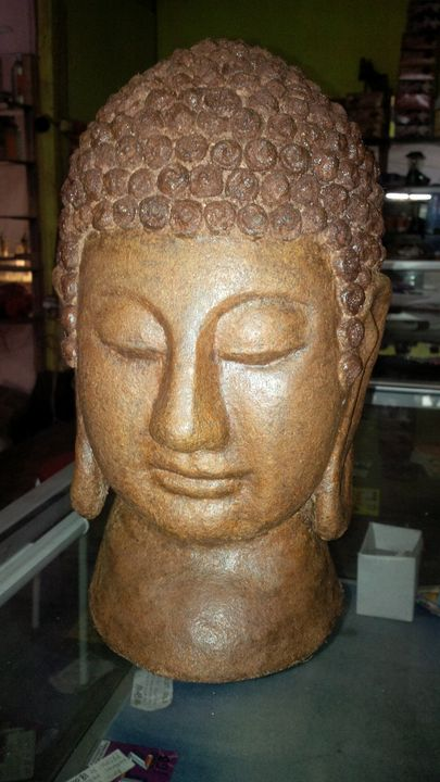 Head of buddha - DECOreliefart