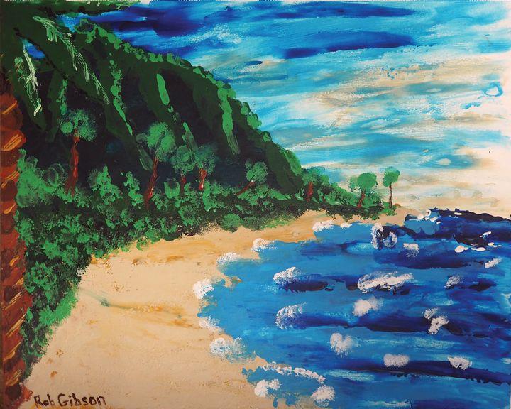 Beach - RGFingerPaint