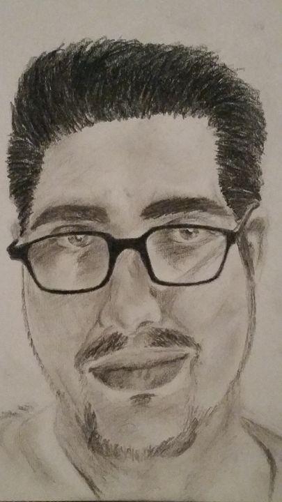 Self Portrait - Robert J. Hankins