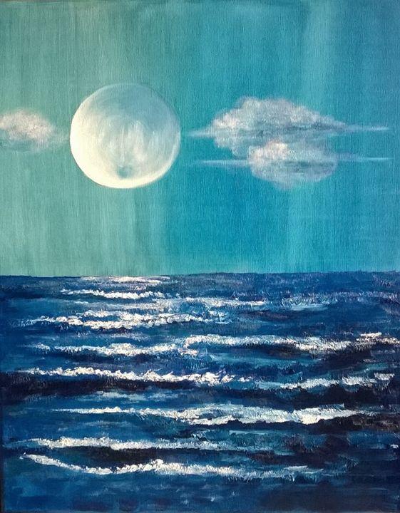 Sailing To The Moon - M. Stelmasiak