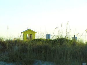 Outhouse on the Beach