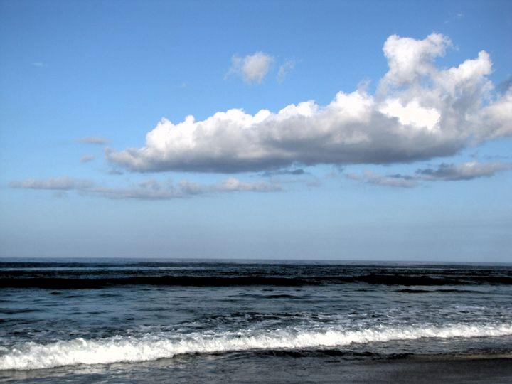 Cloud over the Shore - DesginMyKind