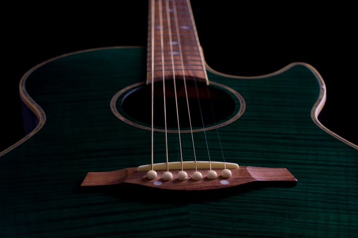 Semi-acoustic guitar - Russell Field