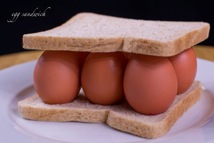 egg sandwich - Russell Field