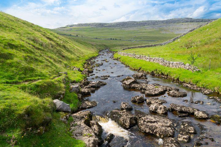 Ingleton stream - Russell Field