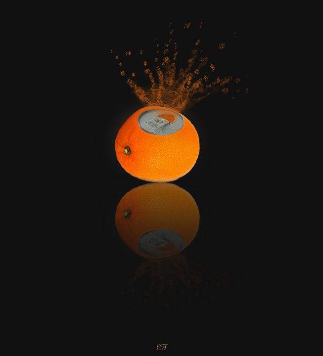 le reflet oranger - CF