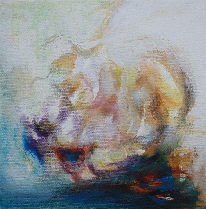 Mark 4:35-40 - Paintings by Liz Torres
