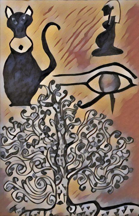 Eye Of Egypt - Stefan duncan Gallery