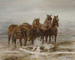 Lifeboat horses