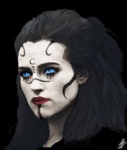 The Morrigan.  Based on Katie McGrat