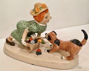 """""""Mingo""""  Ceramic Sculpture"""