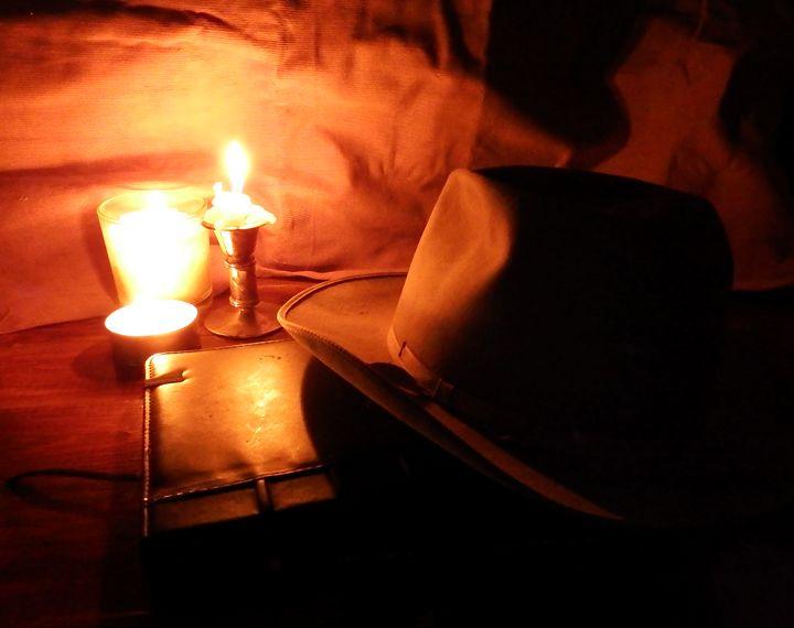 Candlelit Fedora - Deb Johnston